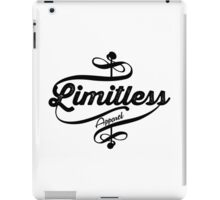 Limitless Apparel - Crossover black iPad Case/Skin