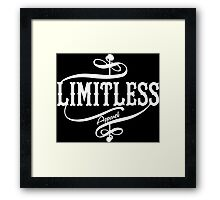 Limitless Apparel - A White Framed Print