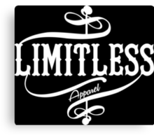 Limitless Apparel - A White Canvas Print