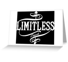 Limitless Apparel - A White Greeting Card