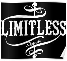Limitless Apparel - A White Poster