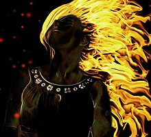 this girl is on fire by Inese