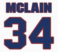 National baseball player Denny McLain jersey 34 by imsport