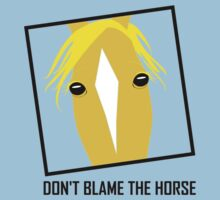 DON'T BLAME THE HORSE Kids Clothes