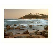 Sunset at Thompson's Bay Art Print