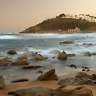 Sunset at Thompson's Bay by Sharon Bishop
