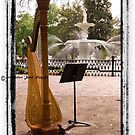 "Harp In Forsyth Park by Arthur ""Butch"" Petty"