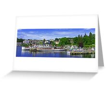Bowness Pier Greeting Card