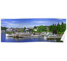 Bowness Pier Poster