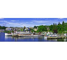 Bowness Pier Photographic Print
