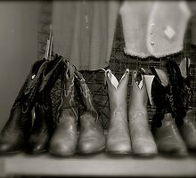 These Boots ... by Robert Baker