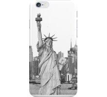 Statue of Liberty New York City New York Skyline iPhone Case/Skin