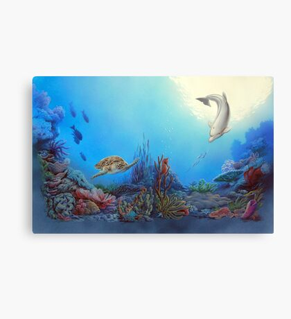 Ocean Community Canvas Print