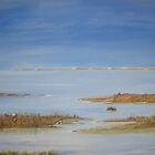 Blakeney Marshes, North Norfolk by Linda Ridpath