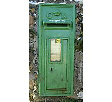 LETTER BOX Photographic Print
