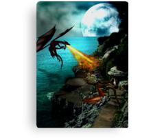 Dragon Wars Canvas Print