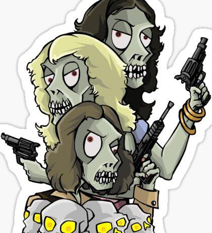 Beelzebub's Angels Sticker