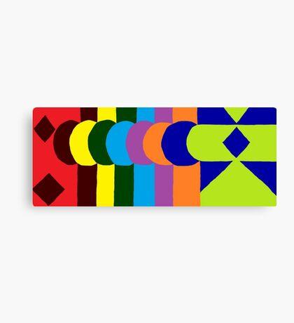JPEG Abstract 10 Canvas Print