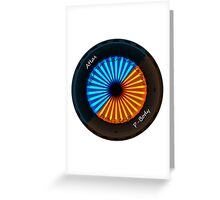 Atlas and P-body STFIAF Greeting Card