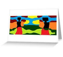 JPEG Abstract 11 Greeting Card