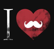I Heart Moustache. by protestall