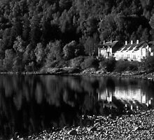 Loch Rannoch Reflection by Tim Haynes