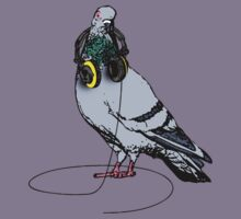 Techno Pigeon Kids Clothes