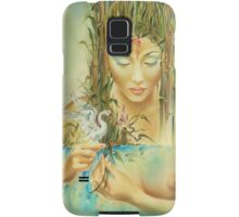 Chinese Fairytale (Weaving the Threads of Life...) Samsung Galaxy Case/Skin