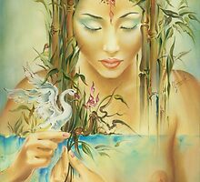 Chinese Fairytale (Weaving the Threads of Life...) by Anna Miarczynska