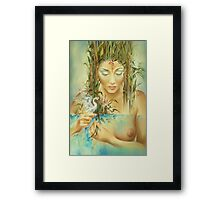 Chinese Fairytale (Weaving the Threads of Life...) Framed Print
