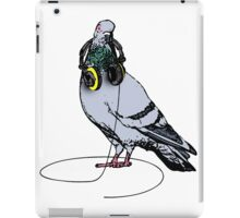 Techno Pigeon iPad Case/Skin