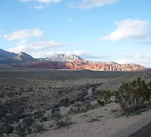 Red Rock Overview (Digital) 3 by Snoboardnlife