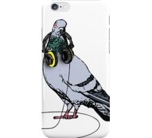 Techno Pigeon iPhone Case/Skin