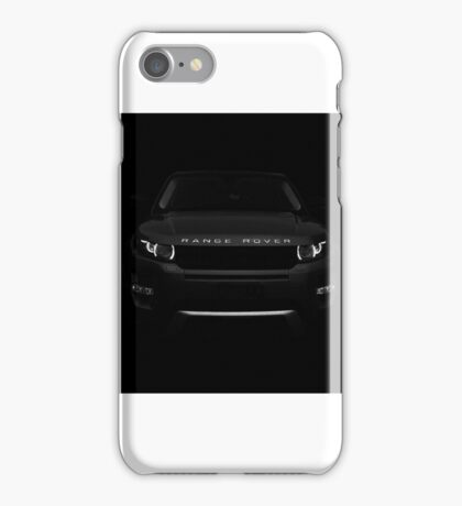 Range rover evoque iPhone Case/Skin