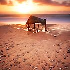 Sunset's Tent by Tony Elieh