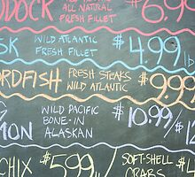 Fish market sign by brians101