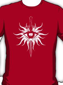 Inquisition Symbol Broken Dragon Age White T-Shirt