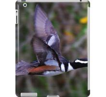 Merganser in Flight! iPad Case/Skin
