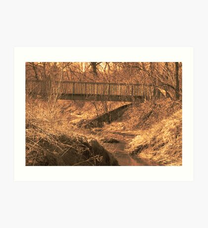 The Bridge In Sepia (Thank you Boban!) Art Print