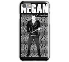 The Walking Dead - Negan & Lucille 3 iPhone Case/Skin