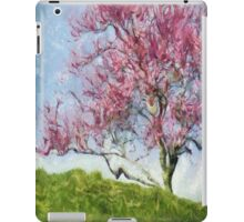 Pink Flowering Tree iPad Case/Skin