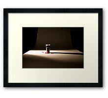 """""""Nothing great in the world has ever been accomplished without passion."""" Framed Print"""