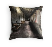 Mission Benches Throw Pillow
