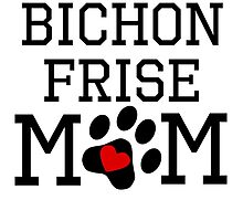 Bichon Frise Mom by kwg2200