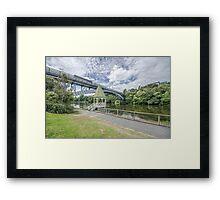 Victoria Bridge  Framed Print