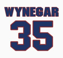 National baseball player Butch Wynegar jersey 35 by imsport