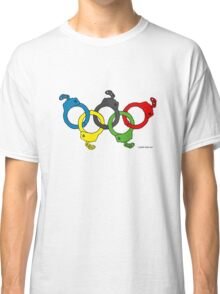 Five handcuffs Classic T-Shirt