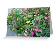 floral bundle Greeting Card