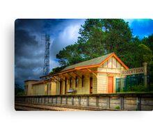 Robertson Trainstation Canvas Print