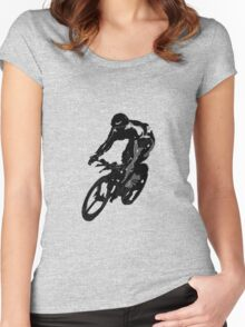 Time Trial Women's Fitted Scoop T-Shirt